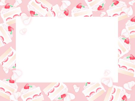 Cake frame (light pink
