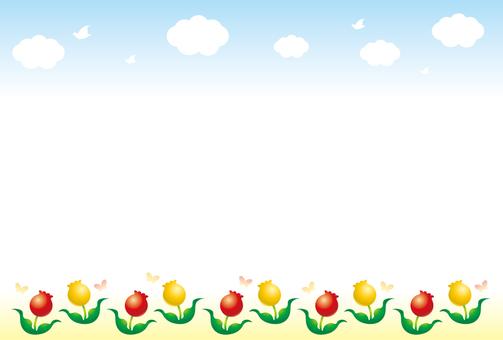 Ramka tulipana 2