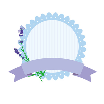 Lavender and label