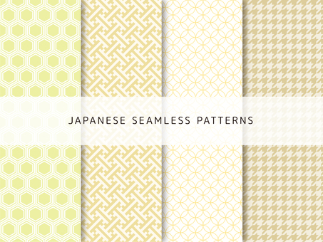 Cute Japanese Pattern Set-3