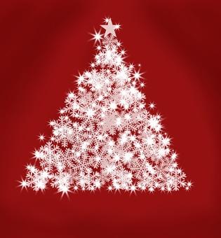 Glittering · Christmas tree