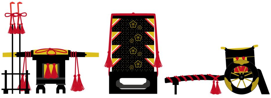 Mitake, heavy box, Gosho car