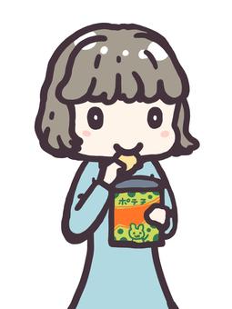 Eat potato