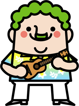 Uncle fairy ukulele master