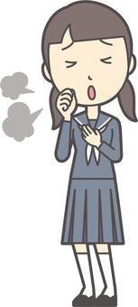 初中水手女子-160-全身