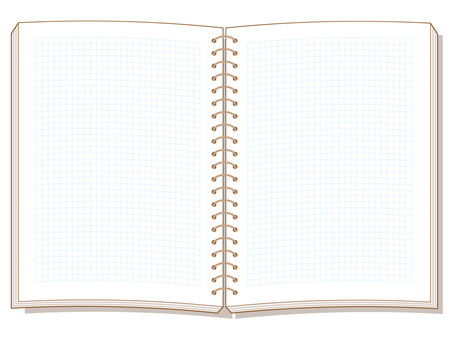 Open ring notebook
