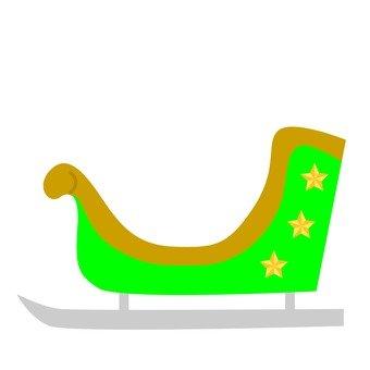 Sled (green)
