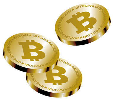 Bit coin (virtual currency) Coin image
