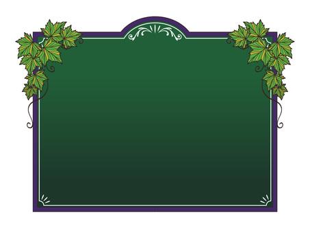 黑板菜單 -  017