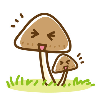 Parents and children of mushrooms
