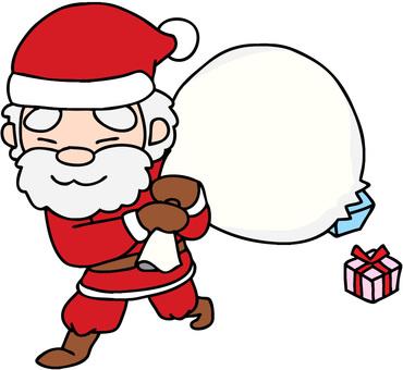 Unfriendly little Santa