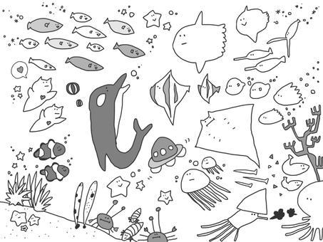 Aquarium wallpaper