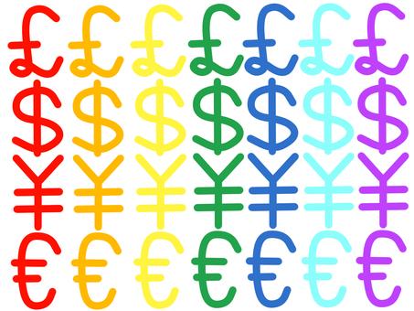 手書き:通貨記号