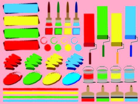 페인트 칠 패턴 ①