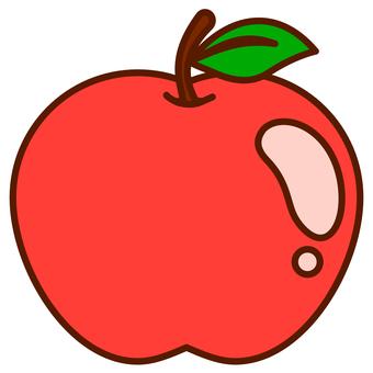 蘋果的插圖