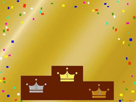 Ranking Gold Confetti