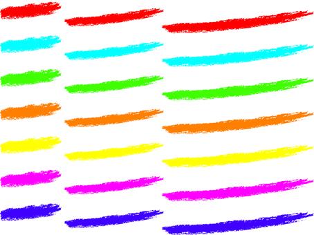 Crayon-style underscore