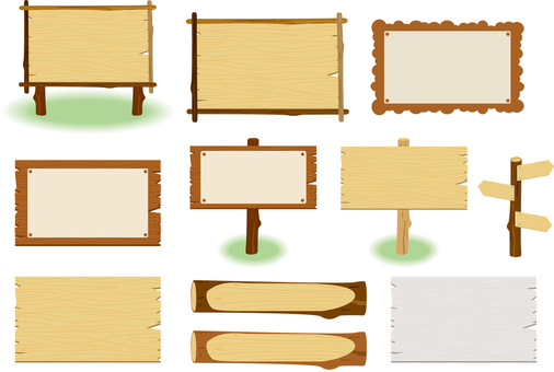 Bulletin board _ frame set