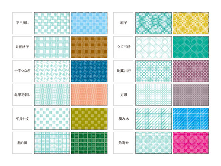 Swatch series Japanese pattern 12 species 2