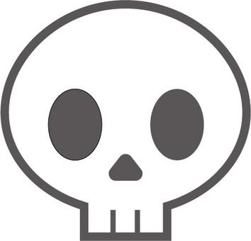Skeleton icon illustration