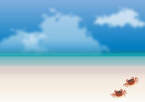 Summer sea and sky 06
