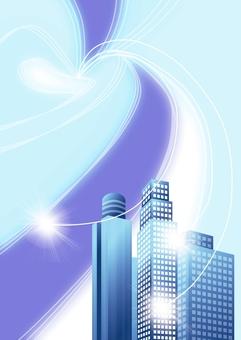 Building frame · IT communication network Vertical