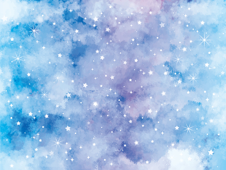Starry sky background / wallpaper material 2