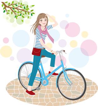 Women _ cycling