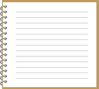 Ring note (square, square square)