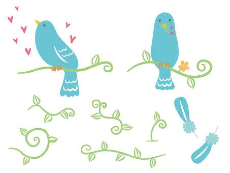 Creature / Blue Bird / Set