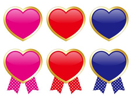 Heart frame set