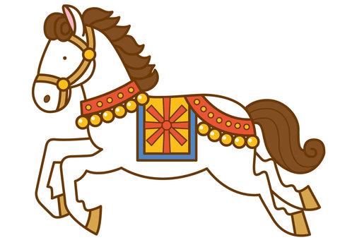 Horse 3-4c