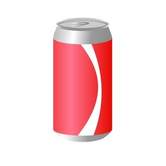 Separation of garbage - Empty can of carbonated drink