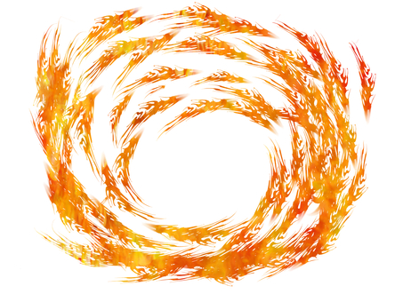 Flame vortex 3
