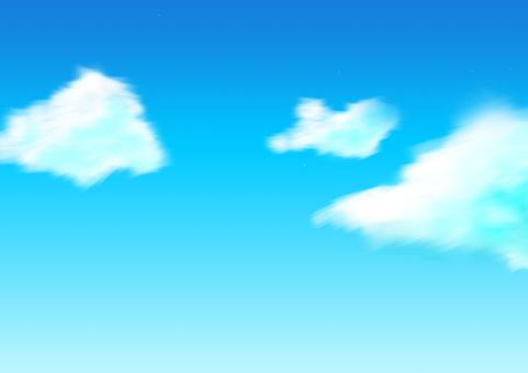 Afternoon sky blue sky