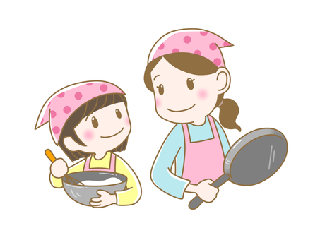 Parent and child cooking 4