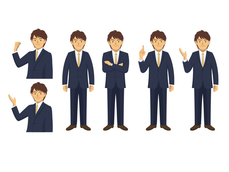 Businessman - set 7