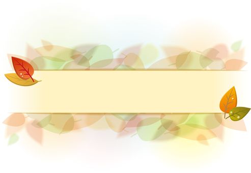 叶子标题装饰