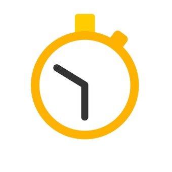 Stopwatch _ yellow