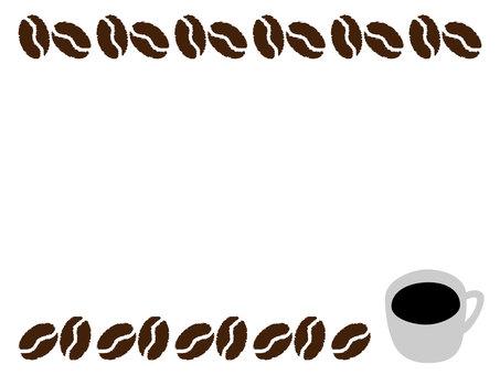 Coffee bean frame 4