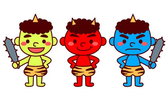 3人の小鬼