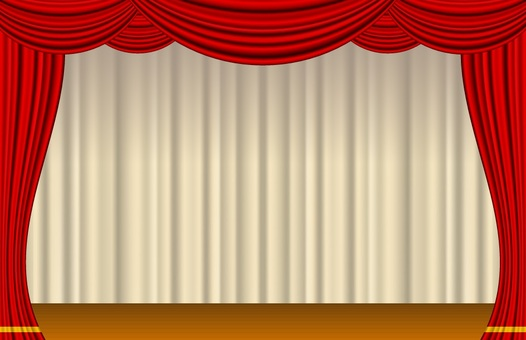 Curtain _ opening stage _ with stage