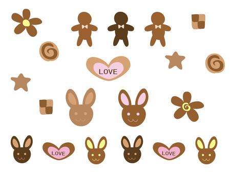 Valentine Cookies Various