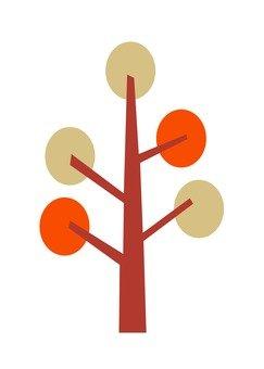 Modern tree 2 (Orange)