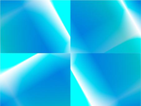 分層漸變(淺藍色)