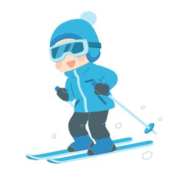 Ski _ Man
