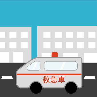 Emergency vehicle (ambulance)