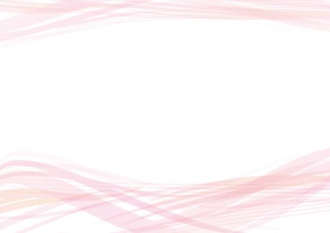 Frame Frame Background Wallpaper Pink Wave Wave Seawater