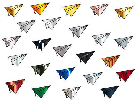 Paper airplane icon -3