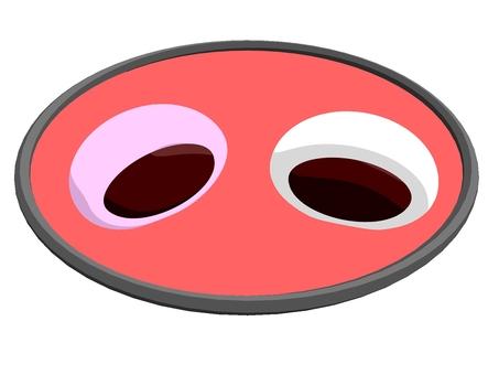 饅頭(紅白)